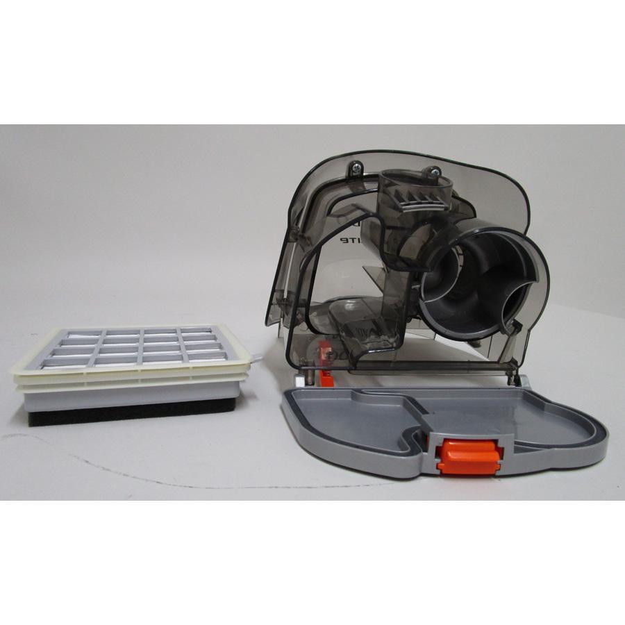 Tornado TOML8805EL Mobilité - Réservoir à poussières avec son filtre