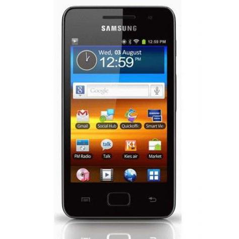 Samsung Galaxy S WiFi 3.6 - Vue principale