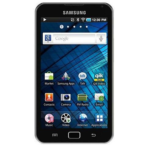 Samsung Galaxy S WiFi 5.0 YP-G70 (8 Go) - Vue principale