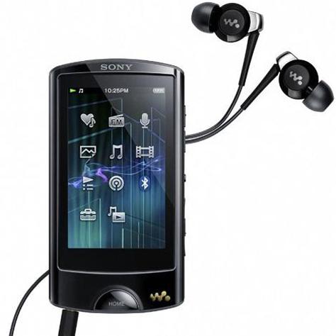 Sony NWZ-A865 (16 Go) - Vue principale
