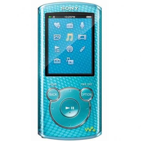 Sony NWZ-E463 (4 Go) - Vue principale