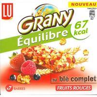 Grany Équilibre Au blé complet, fruits rouges