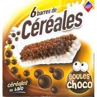 Leader Price Boules choco, céréales et lait