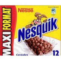 Nesquick (Nestlé) Céréales et lait
