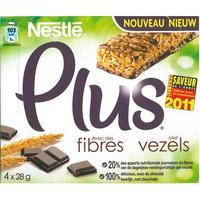 Nestlé Plus Chocolat, avec des fibres