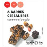 Tous les jours (Casino) Chocolat cacahuètes