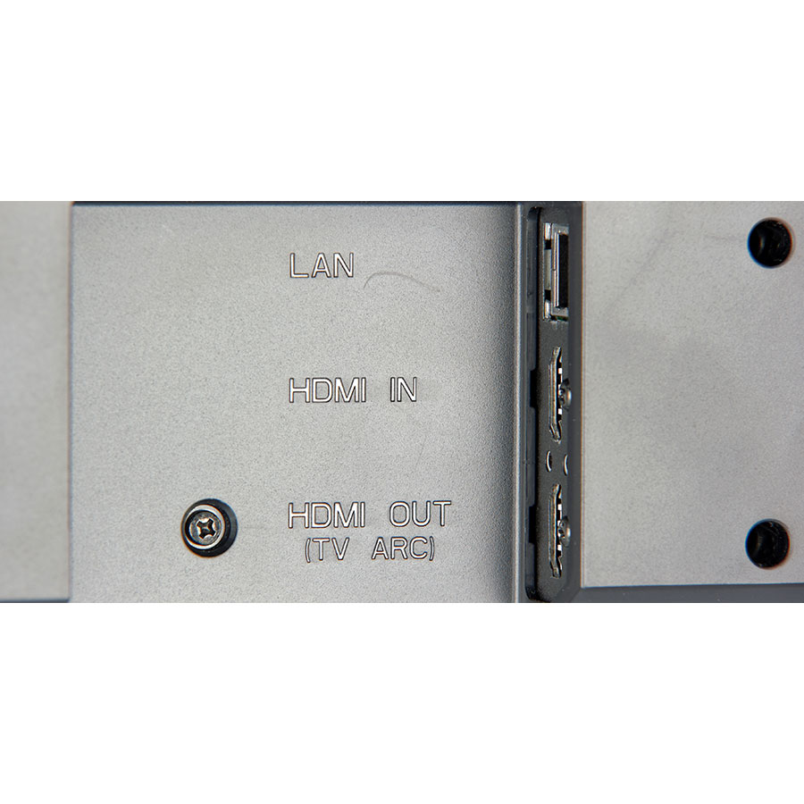 LG SJ6 - Connectique
