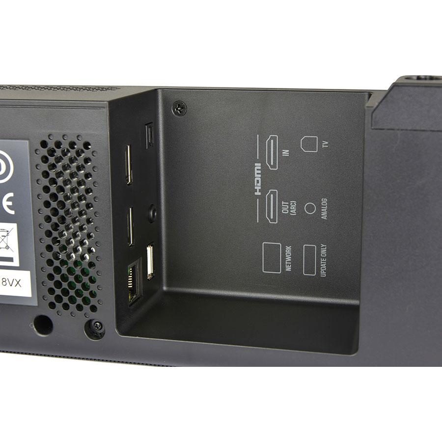 Yamaha ATS 4080 - Connectique