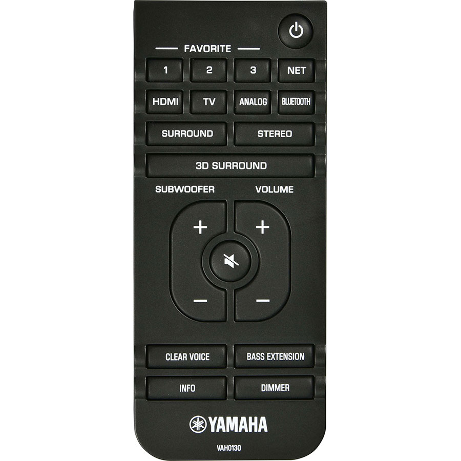 Yamaha ATS 4080 - Télécommande