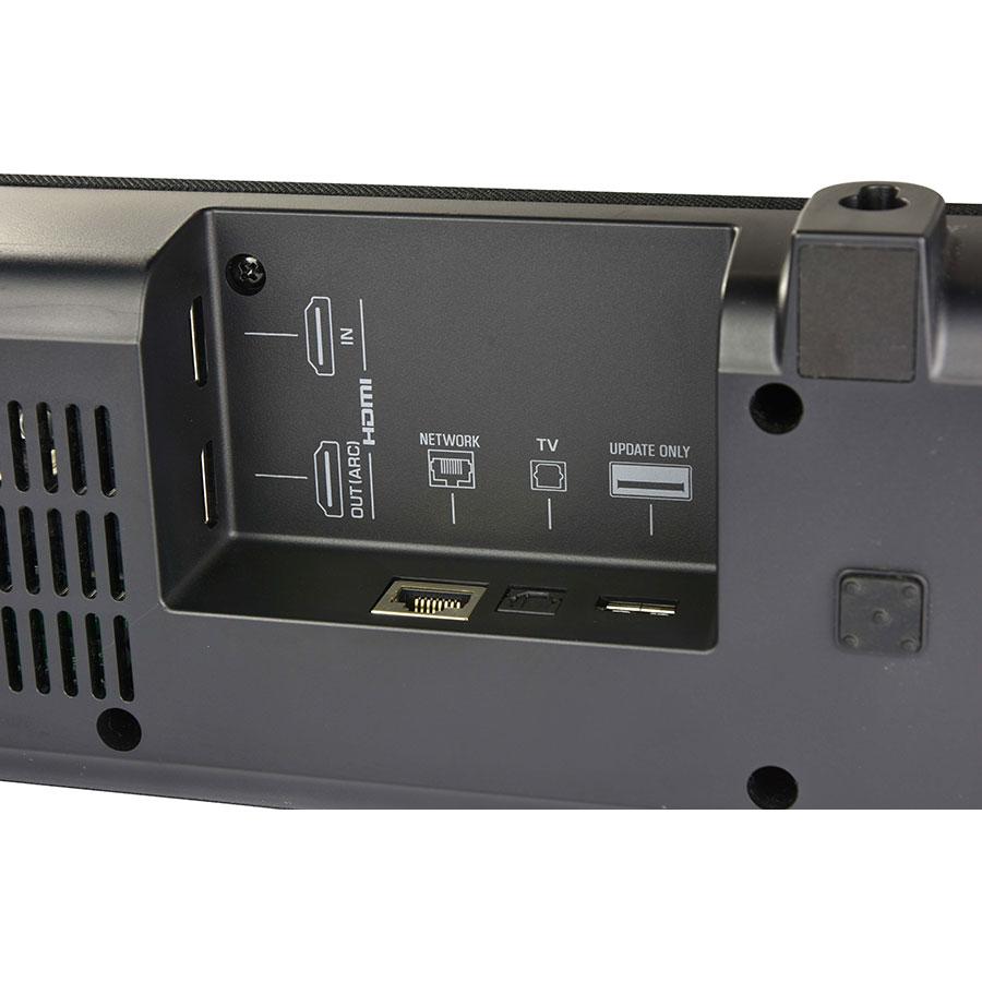 Yamaha YAS 209 - Connectique