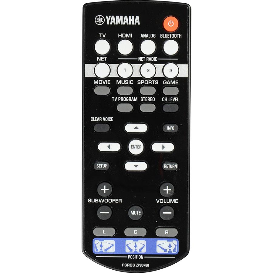 Yamaha YSP-1600 - Télécommande