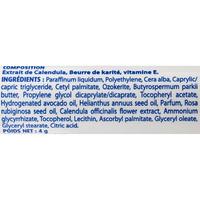 Boiron Homéostick, baume lèvres au calendula - Liste des ingrédients