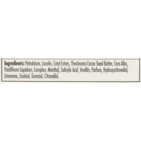 Carmex Classic moisturising lip balm - Liste des ingrédients