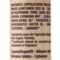 Melvita Stick lèvres nourrissant, huile d'argan, bio - Liste des ingrédients