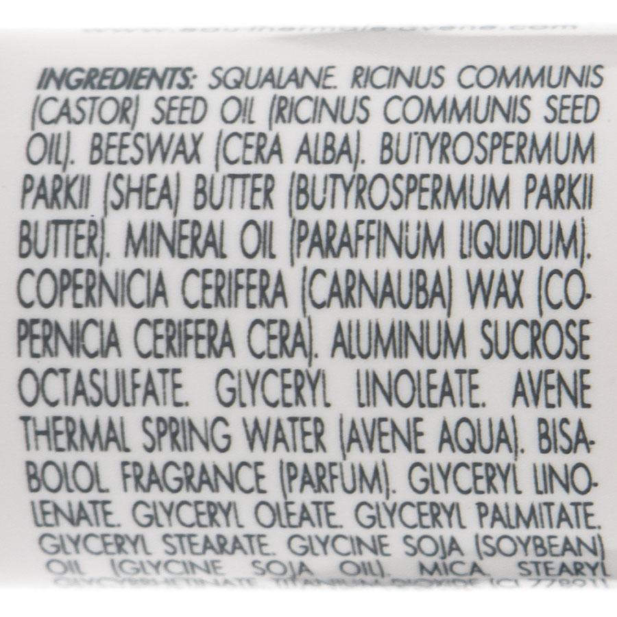 Avène Cold cream, stick lèvres nourrissant - Liste des ingrédients