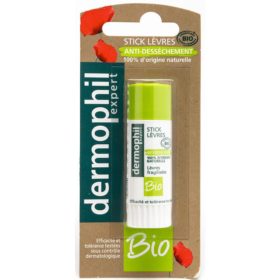 Dermophil Expert Stick lèvres anti-dessèchement, bio - Visuel principal