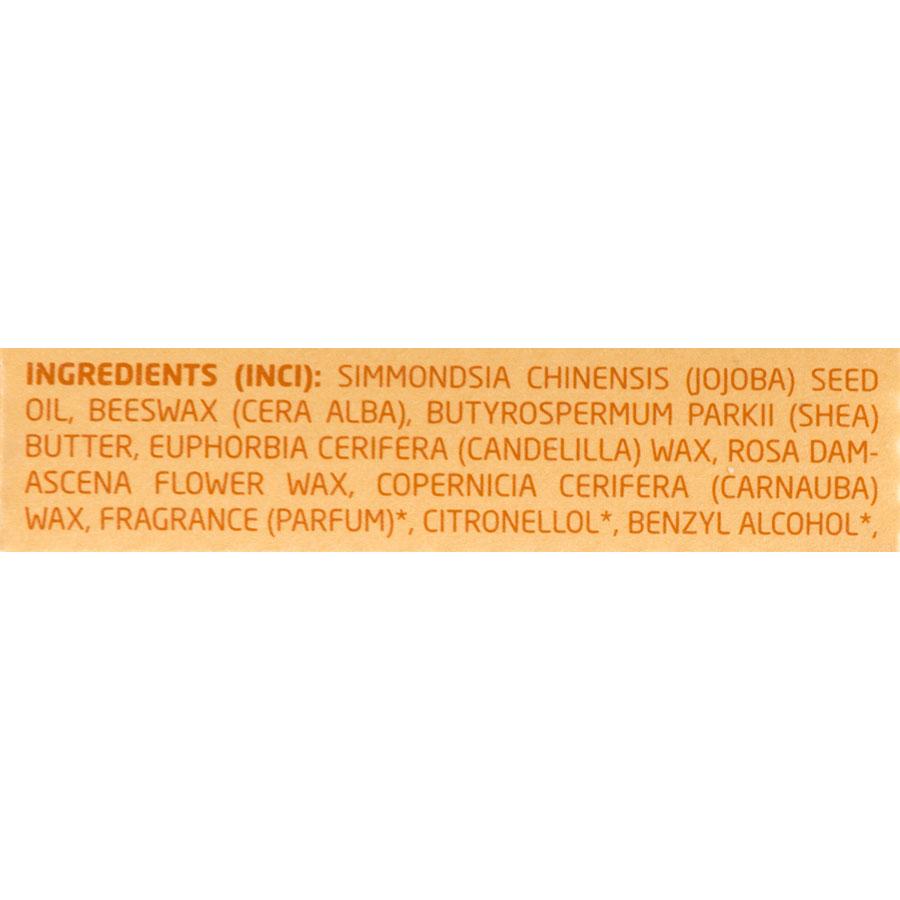 Weleda Everon Soin des lèvres, bio - Liste des ingrédients