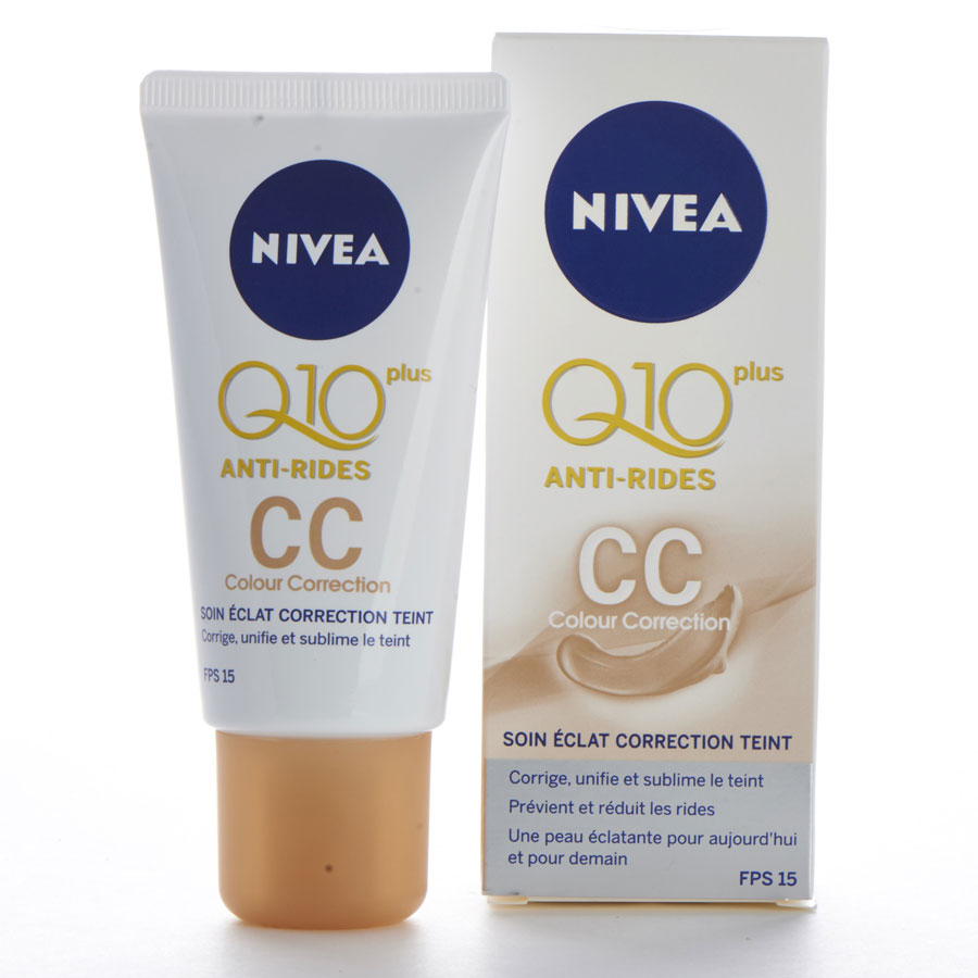 Nivea Q10 plus antirides CC cream -