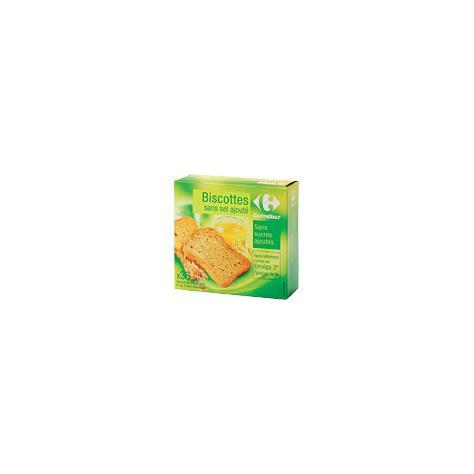 Carrefour sans sel ajouté - Vue principale