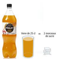 Finley Orange & saveur cranberry - Nombre de morceaux de sucre par portion