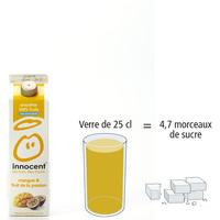 Innocent Mangue & fruit de la passion - Nombre de morceaux de sucre par portion