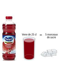 Ocean Spray Cranberry classic - Nombre de morceaux de sucre par portion