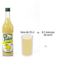 Pulco Citron - Nombre de morceaux de sucre par portion