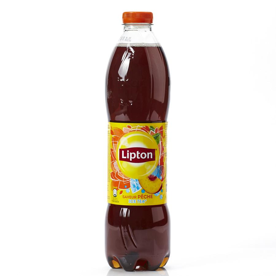 Ice tea (Lipton) Saveur pêche - Vue principale
