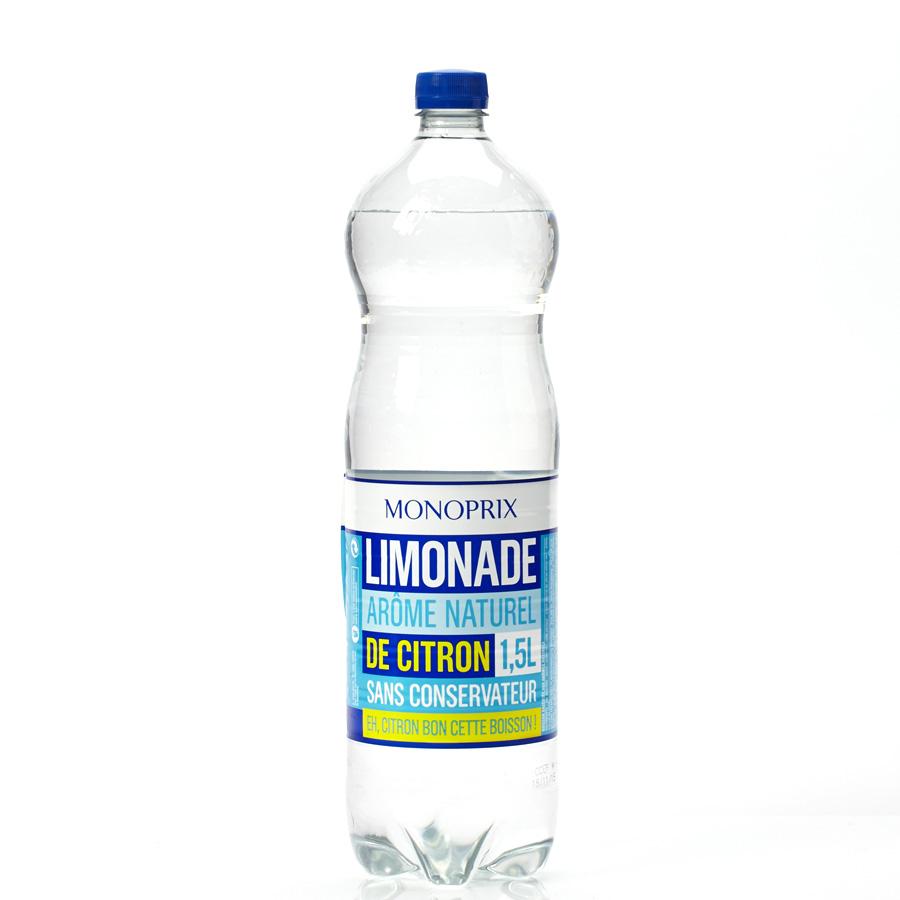 Monoprix Limonade - Vue principale