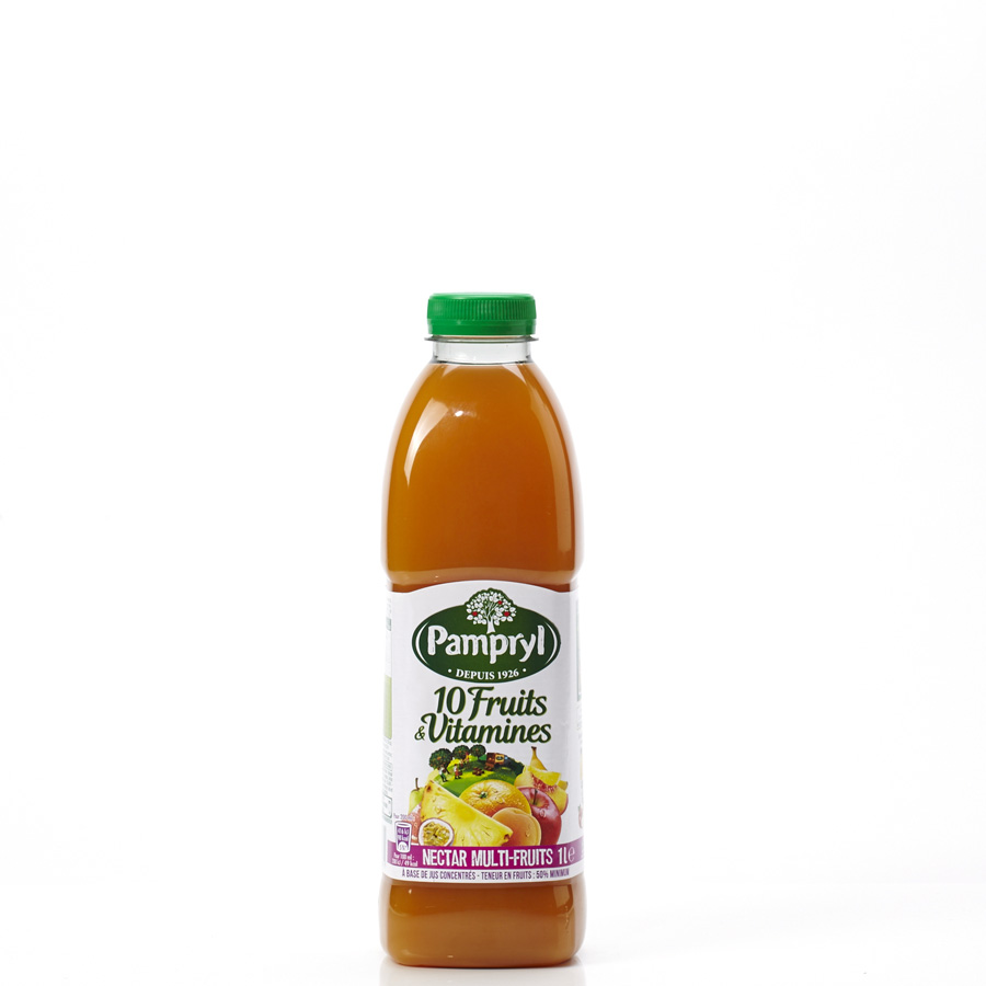 Pampryl 10 fruits & vitamines - Vue principale