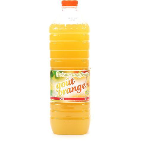 Ed Dia Boisson aux fruits goût orange -