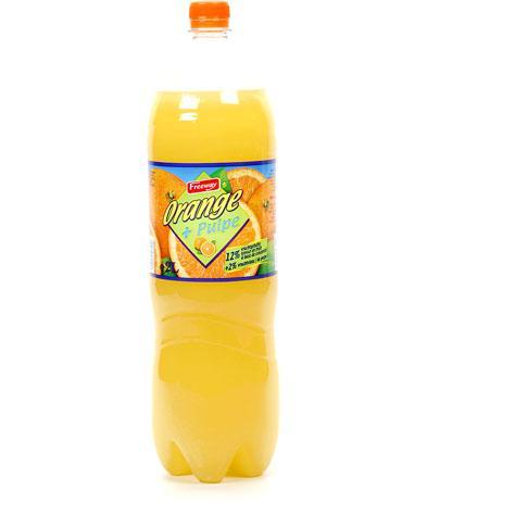 Lidl Freeway Orange + pulpe -