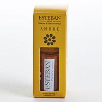 Esteban Concentré de parfum ambre utilisé avec le brûle-parfum Terrebrune de Nature & Découvertes