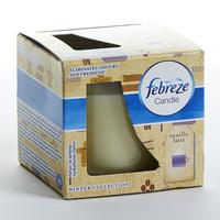 Febreze Candle Winter collection Vanilla Latte