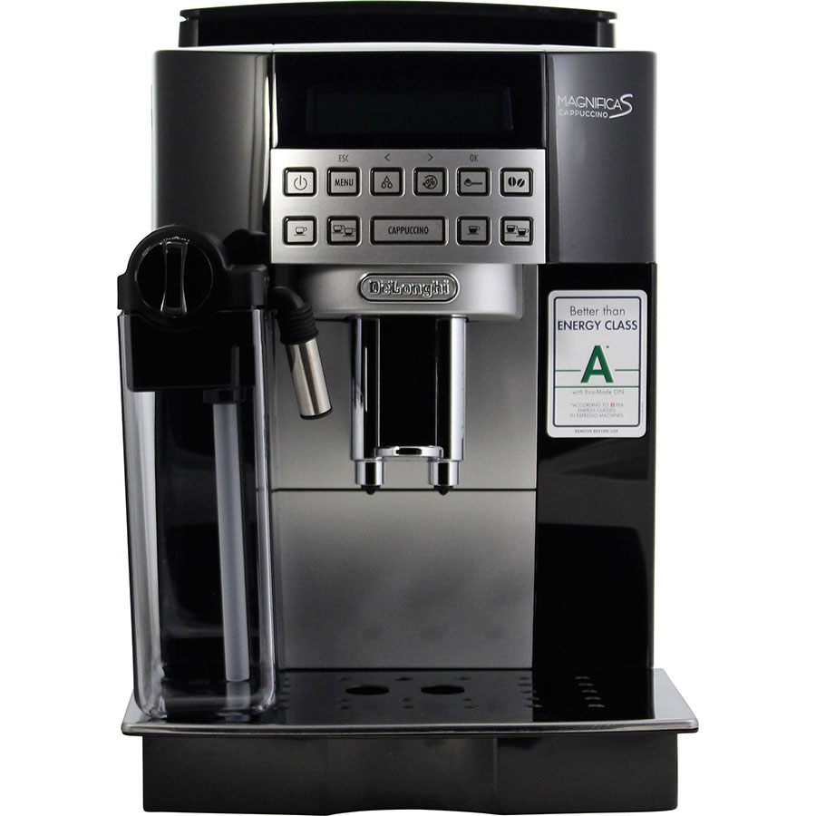 DeLonghi Ecam 22.360.B Magnifica S Cappuccino - Vue de face