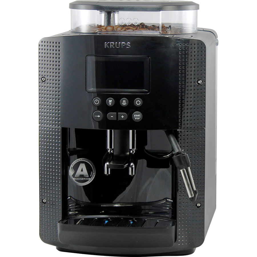 test krups ea815 cafeti res expresso avec broyeur. Black Bedroom Furniture Sets. Home Design Ideas