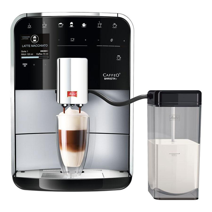test melitta caffeo barista t f730 cafeti res expresso avec broyeur grains ufc que choisir. Black Bedroom Furniture Sets. Home Design Ideas