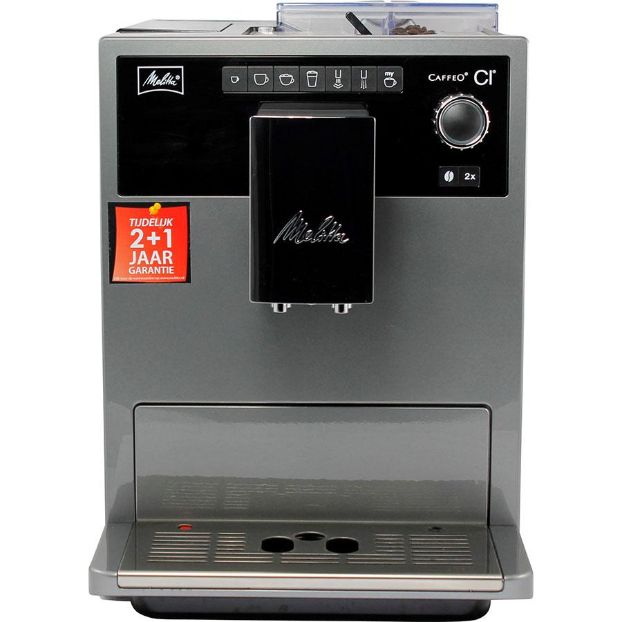 Melitta Caffeo CI E970-306 - Vue de face