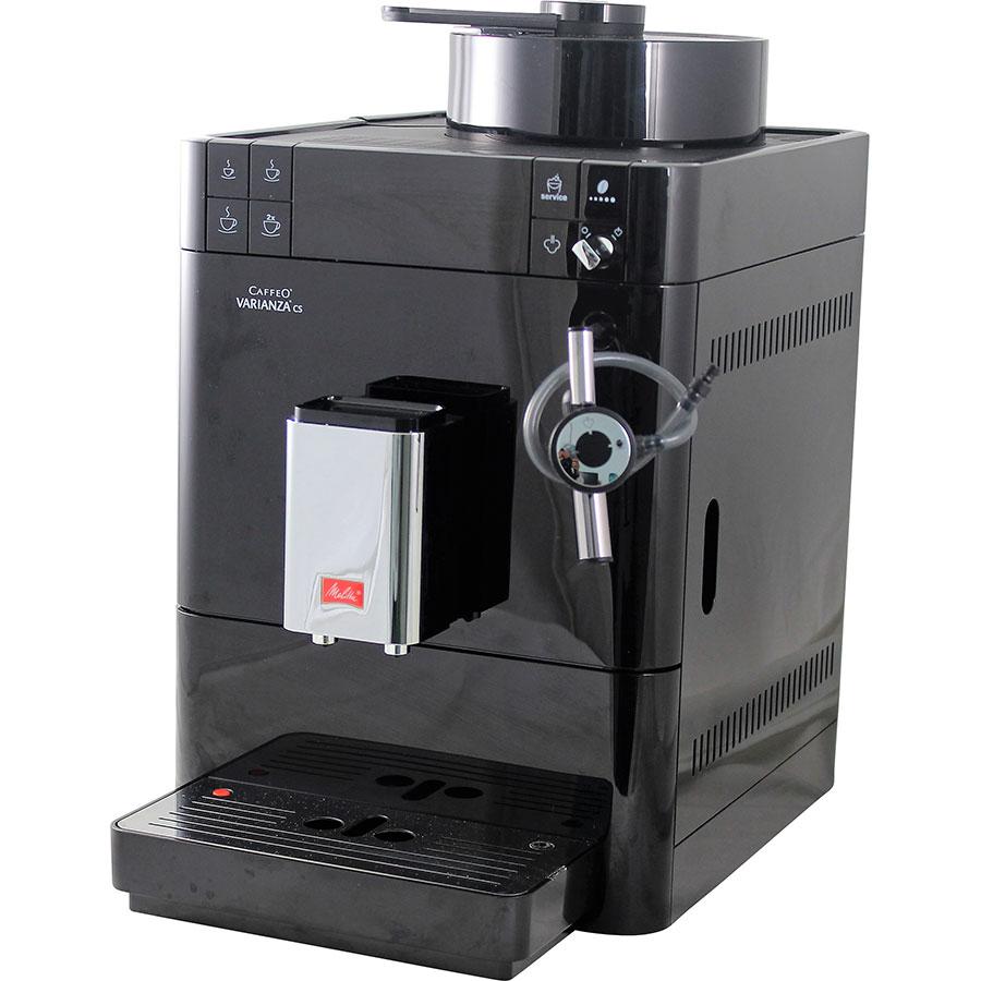 test melitta caffeo varianza cafeti res expresso avec broyeur grains ufc que choisir. Black Bedroom Furniture Sets. Home Design Ideas