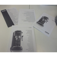 De'Longhi Dedica Ultra compact EC680.M(*1*) - Notice et capsules de dégustation