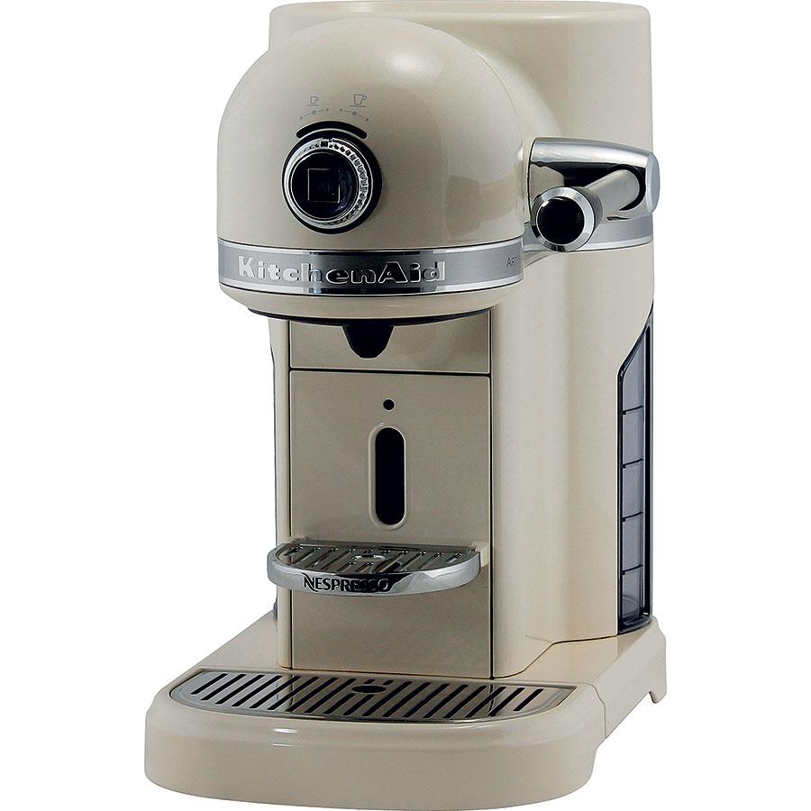 Kitchenaid Nespresso Artisan 5KES0503EAC off white - Vue de côté