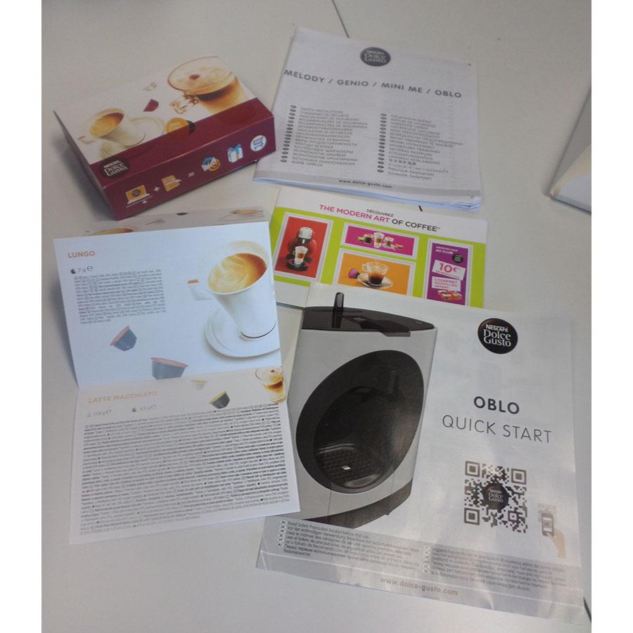 Krups Oblo YY2291FD - Indication du niveau maxi d'eau