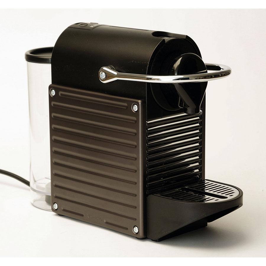 Krups Pixie YY1201FD - Bouton sélection café long ou court