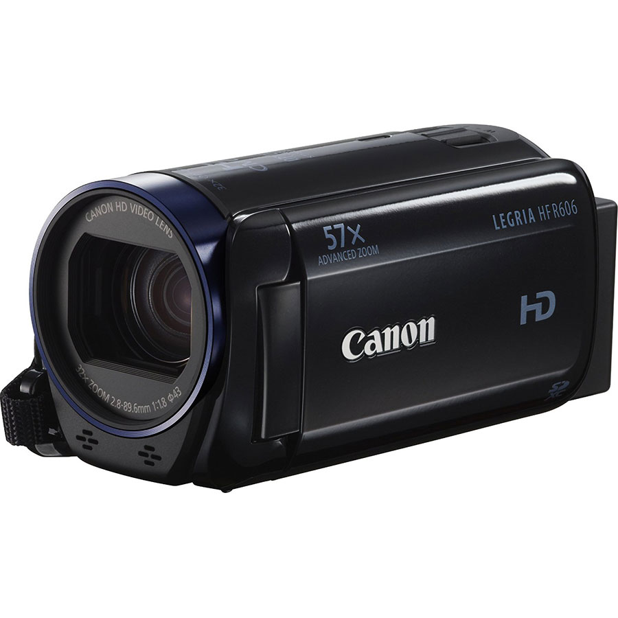 Canon Legria HF R606 - Vue principale