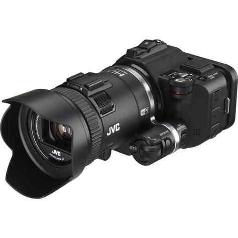 JVC Everio GC-PX100 - Vue principale