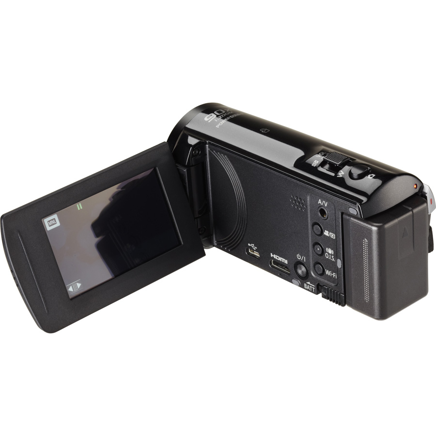 Panasonic HC-V250 - Ecran