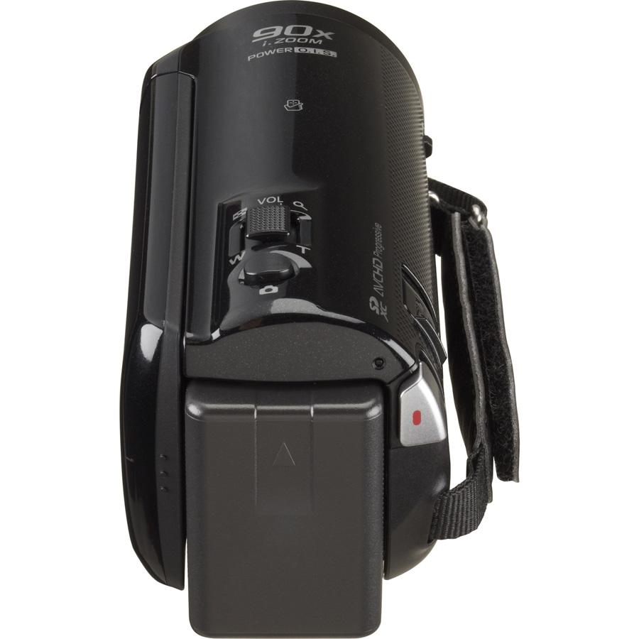 Panasonic HC-V250 - Vue de dos