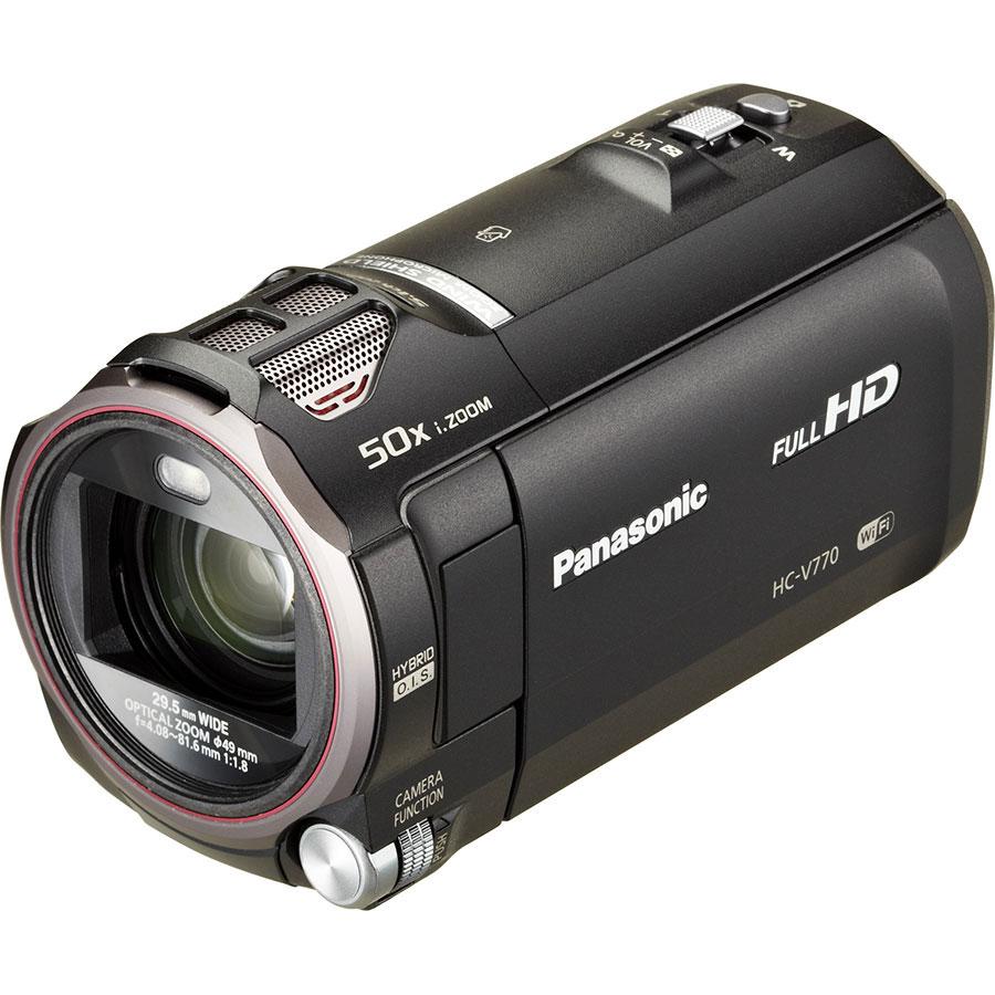 Panasonic HC-V770 - Vue principale