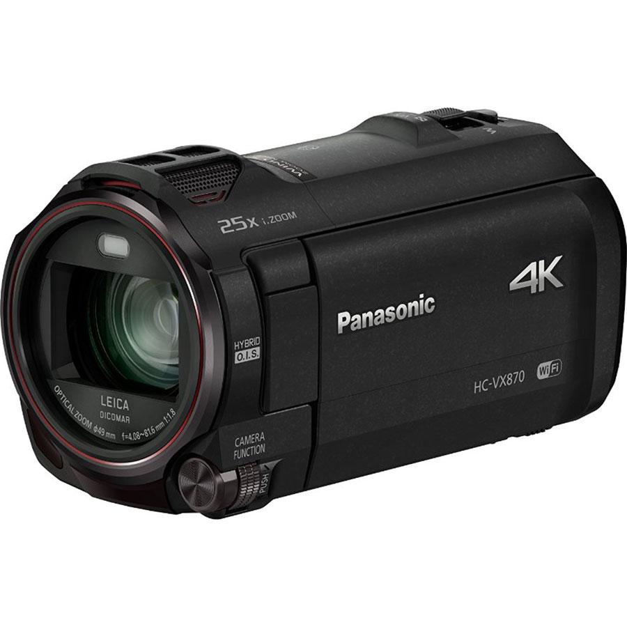 Panasonic HC-VX870 - Vue principale