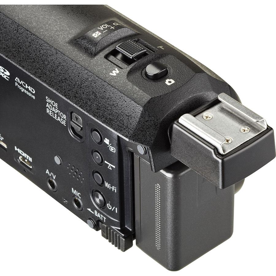 Panasonic HC-WX970 - Support flash